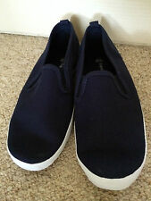 Brand new unisex adults canvas Shoes size 4,5,6,7,8,9,10 navy