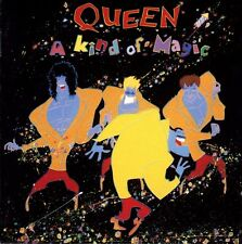 QUEEN - A KIND OF MAGIC - CD ALBUM - WHO WANTS TO LIVE FOREVER + BONUS TRACKS