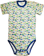 Adult Size Baby Diaper Shirt/BodyShirt Snap Crotch Cars Nursery Print