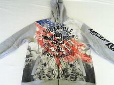 NWT Awesome Mens SOUTHPOLE Hoodie Jacket LIVE TO RIDE - L XL XXL - NEW WITH TAGS