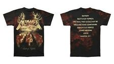 METALLICA MOP MASTER OF PUPPETS DEATH ALLOVER HEAVY METAL T TEE SHIRT S-2XL