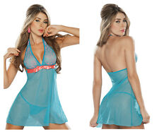 Mapale 7009 Babydoll with Matching G-String Color Turquoise