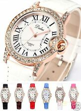 NEW DESIGNER WRIST WATCH FASHION STYLE WOMEN LADIES MEN GIFT CRYSTAL BRACELET