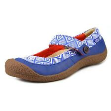 Keen Harvest MJ Button Women  Round Toe Canvas Multi Color Mary Janes