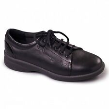 Padders REFRESH 2 Ladies Leather Comfort Extra Wide Plus Fit Shoes Black/Patent