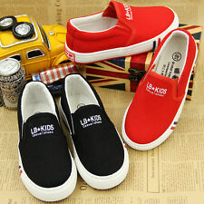 Canvas shoes boy between children casual shoes of the girls Low help shoes
