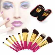 9 Pcs Professional Cosmetic Makeup Brush Brushes Set Powder Eyeshadow