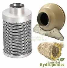 Rhino Pro Carbon Filter Kit 6 Inch A1 150 X 300mm Systemair RVK Fan Hydroponics