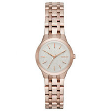DKNY Analog Casual   Rose Gold  Ladies Watch NY2492