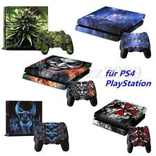 Decal Cover Skin Sticker For PS4 PlayStation 4 Console + 2 Controller Vinyl NEW1