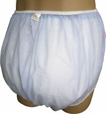 Baby Pants Classic Plastic Pants in Adult Sizes For Bedwetters - Blue Stars