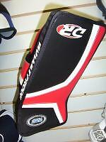 New DR 5.2 hockey goalie junior blocker RH black red