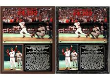 Pete Rose Record-Breaking Hit No 4,192 Photo Plaque Cincinnati Reds
