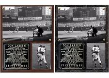 Don Larsen Perfect Game 1956 World Series Photo Plaque New York Yankees