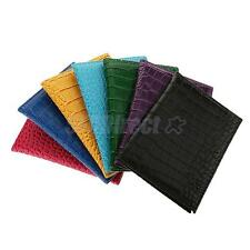 NEW ALLIGATOR EMBOSSING PASSPORT HOLDER PASSPORT PROTECTOR COVER WALLET LEATHER