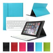 """Ultra Thin Leather Case Stand Wireless Bluetooth Keyboard For 10"""" 9.7"""" 9"""" Tablet"""