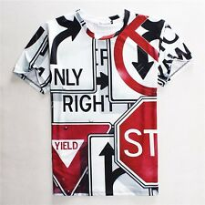 2016 New Fashion Women/Mens Harajuku Graphicl 3D Print Casual T-Shirt Plus Size