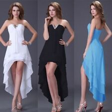 Sexy Bridesmaid Long Ball Prom Birthday Gown Women's Party Formal Evening Dress