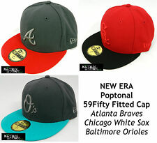 NEW ERA POP TONAL MLB 59FIFTY FITTED CAP - BRAVES/ORIOLES/WHITE SOX