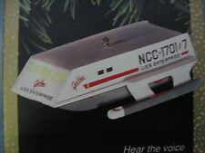 1992 Hallmark STAR TREK SHUTTLECRAFT GALILEO Ornament LIGHT VOICE Free Shipping