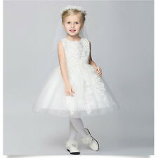 New Baby Princess Bridesmaid Flower Girl Wedding Party Easter Graduation Dress