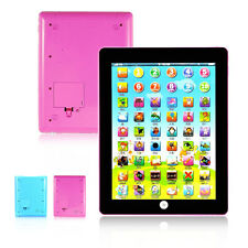 Tablet Pad Computer For Kid Children Gift Learning English Educational Teach Toy