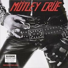 Too Fast for Love (ltd Ed) - Motley Crue CD-JEWEL CASE