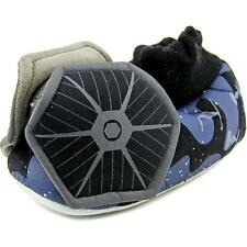Star Wars by Stride Rite SRS5654 Youth  Round Toe Canvas Black Slipper