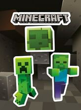 Minecraft Creepers Sticker Pack 10x17cm