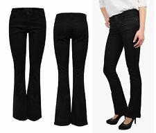 Ladies Flare Jeans Trousers ROYAL REG SK SWEET FLARED PIM 600 black Bootcut