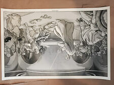 A Wretched Hive Martin Ansin Poster Print Limited Variant Edition Mondo