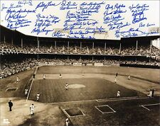 Brooklyn Dodgers Oversize Ebbets Field World Series Photograph Signed by 47