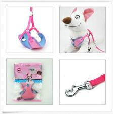 Lead Leash Puppy Pet Dog Small Cat Harness Adjustable with Clip Soft Mesh Fabric