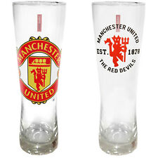 Manchester United Football Club Official Soccer Gift Peroni Style Pint Glass