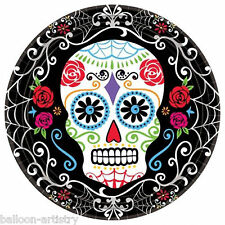 18 Halloween Muertos Day Of The Dead Festival Party 23cm Paper Plates