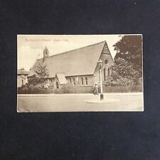 ST GABRIELS CHURCH BOWES PARK PALMERS GREEN SOUTHGATE LONDON VINTAGE POSTCARD