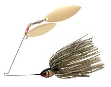 Booyah BYBW38-641 Blade Spinnerbait 3/8oz Gold Shiner Double Willow Gold