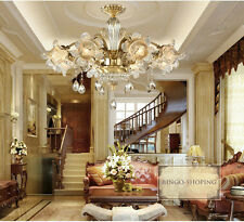 European Light Living Room/Restaurant Copper Crystal Chandelier/Hanging lamp