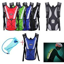 Hot Water Bladder Bag Backpack Hydration Packs Camelbak Pack Hiking Camping 2L