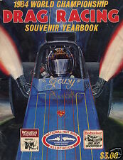 1984 NHRA SOUVENIR YEARBOOK - TOP FUEL - FUNNY CAR - PRO STOCK - GREAT PHOTOS!
