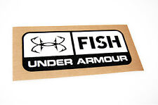 Under Armour Fish - Bass Boat Carpet Graphic - Multiple Sizes - Decal Logo