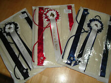 Personalised Rosette Display Hanger  ideal way to display your winning rosettes