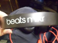 Beats by Dr. Dre Mixr Limited Edition Black Headphones Headset