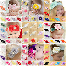 Nt Infant Toddler Baby Girl Flower Headband Newborn Hair Band Hair Accessories