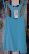 **NEON LADIES FLURO SINGLET TOPS Gym Wear + 80s Sizes 8-14**