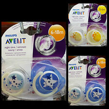 Philips AVENT SCF176/18 Glow in the Dark Night-Time Scoother 2 Scothers