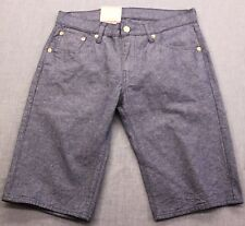 LEVIS 504 RARE Mens BLUE REGULAR FIT DENIM JEAN SHORTS NWT  Sizes: 34   30