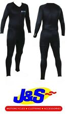 OXFORD ALL YEAR ONE PIECE SUIT MENS THERMAL BASE LAYER UNDERSUIT BLACK J&S