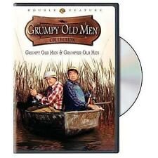 NEW GENUINE WB DVD MATTHAU LEMMON GRUMPY & GRUMPIER OLD MEN 1&2 FREE 1ST CLS S&H