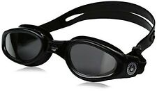 Aqua Sphere Kaiman Swim Goggle (Small, Mirrored Lens/Black Frame)